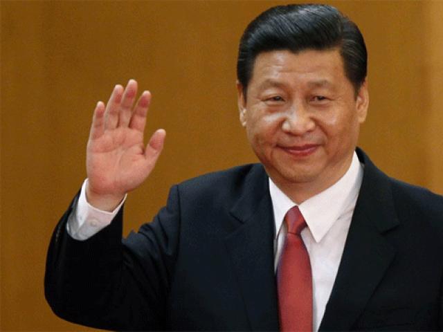 چینی صدر شی جن پنگ نے 2012 میں صدارت کا عہدہ سنبھالا تھا۔ فوٹو:فائل