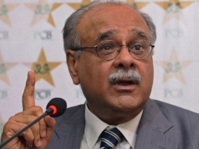 وزیراعلیٰ سندھ کراچی میں میچز کے حوالے سے ہمارے ساتھ مکمل تعاون کر رہے ہیں، نجم سیٹھی۔  فوٹو: فائل
