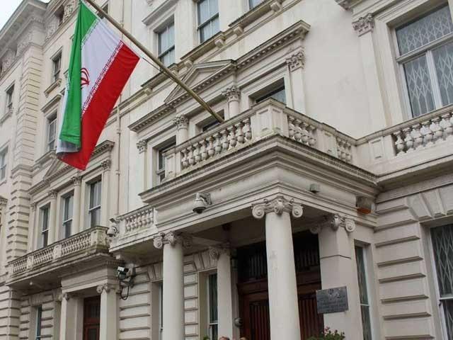 چاقو بردار شخص ایرانی سفیر کو قتل کرنے کی نیت سے آیا تھا۔ فوٹو : فائل