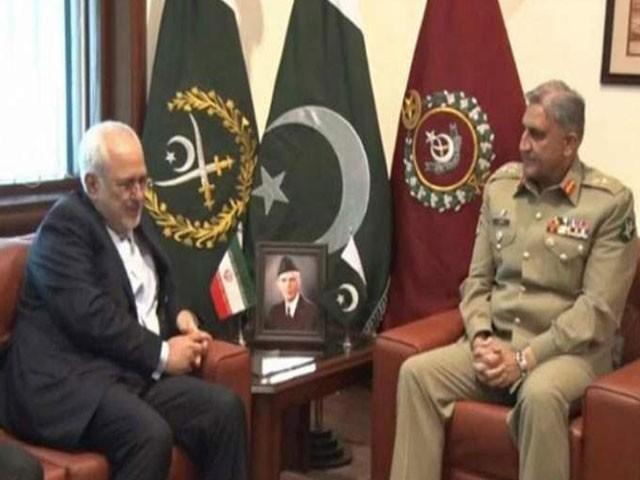 ملاقات میں علاقائی سیکیورٹی صورتحال، باہمی دلچسپی کے امور اور پاک ایران تعلقات پر تبادلہ خیال کیا گیا، آئی ایس پی آر : فوٹو : فائل