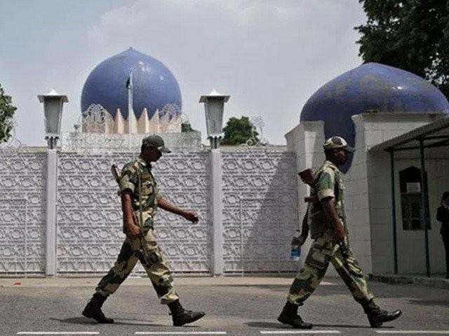 بھارتی وزارت خارجہ پاکستانی سفارتکاروں کو ہراساں کرنے میں ملوث اپنی خفیہ ایجنسیوں کو لگام دینے میں ناکام فوٹو:فائل