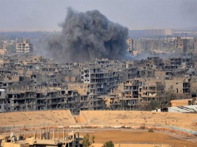 اگر اقوام متحدہ شام میں جاری خونریزی کو روکنے میں ناکام رہا تو بشارالاسد حکومت کے خلاف ملٹری ایکشن کا آپشن استعمال کیا جا سکتا ہے، امریکی سفیر نکی ہیلی  فوٹو : اے ایف پی