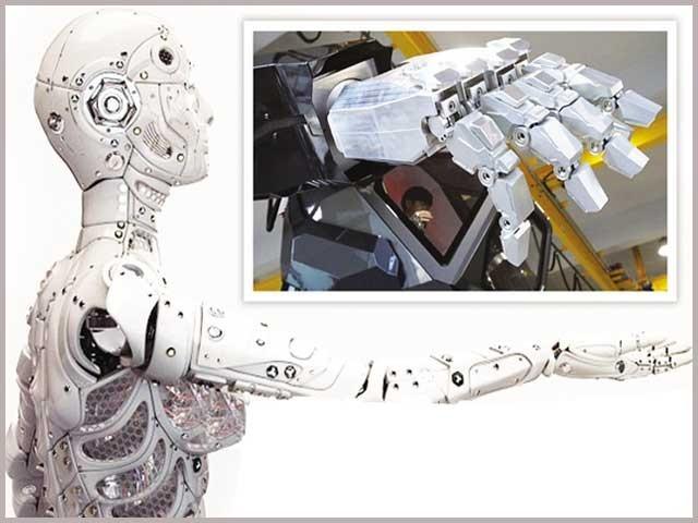 دبئی جیسی ریاستوں میں بھی روبوٹوں کا مختلف مقاصد کے لیے استعمال تیزی سے عام ہوتا جارہا ہے۔ فوٹو : فائل