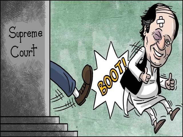 پاکستان میں آج تک کوئی ایک بھی وزیراعظم اپنی آئینی مدت پوری نہیں کرنے پایا۔ فوٹو: انٹرنیٹ