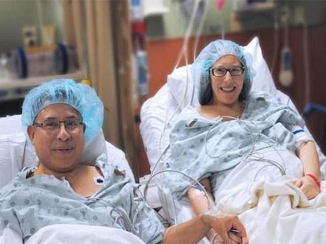 شوہر نےگردہ بطور تحفہ عطیہ کرکے بیوی کی جان بچالی،فوٹو:میموریل ہیلتھ کیئرسسٹم