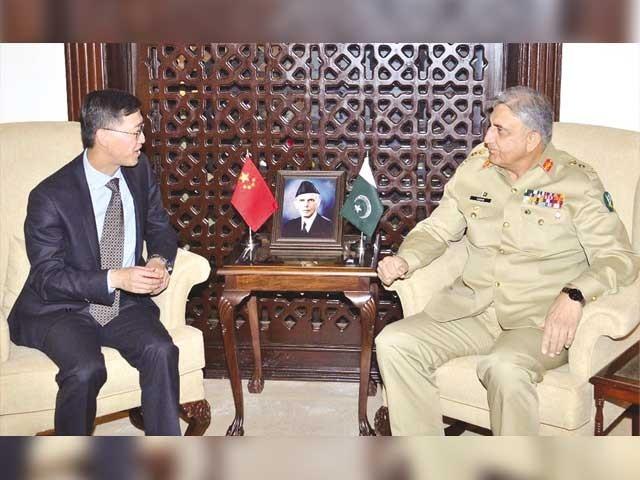 یائوجنگ نے خطے میں سلامتی اور استحکام کے لیے پاکستان کی کوششوں کو سراہا۔ فوٹو: اے پی پی