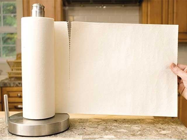 'بیمبو پیپر ٹاول' کا ایک رول روایتی کاغذی تولیے کے 429 رول کے برابر ہے، کمپنی کا دعویٰ۔ فوٹو: سوشل میڈیا