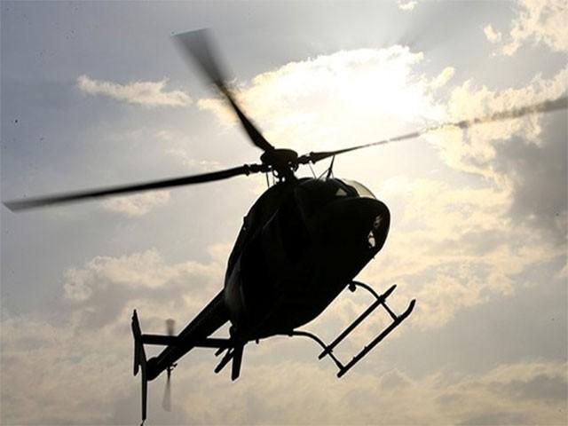 ہیلی کاپٹر صوبہ انبار کے قصبے القائم میں تباہ ہوا جو شامی شرحد کے قریب ہے، امریکی اہلکار۔ فوٹو:فائل