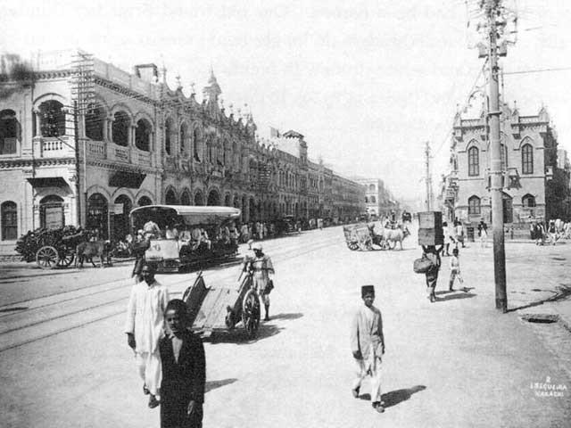 1887 تک کراچی میں اعلی تعلیم کا کوئی ادارہ نہیں تھا اور یہاں صرف میٹرک تک کی تعلیم دی جاتی تھی۔ (فوٹو: انٹرنیٹ آرکائیوز)