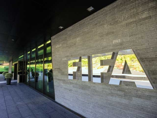 ورلڈ کپ 14 جون سے 15 جولائی تک روس کے 12 شہروں میں منعقد ہوگا، انفانٹینو  . فوٹو: فائل