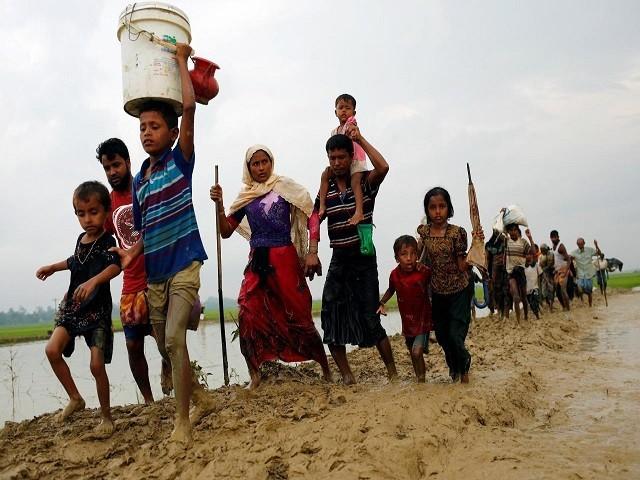 امداد سے 9لاکھ روہنگیا بے گھر افراد کی ضروریات فوری طور پر پوری کی جاسکیں گی۔ فوٹو: فائل