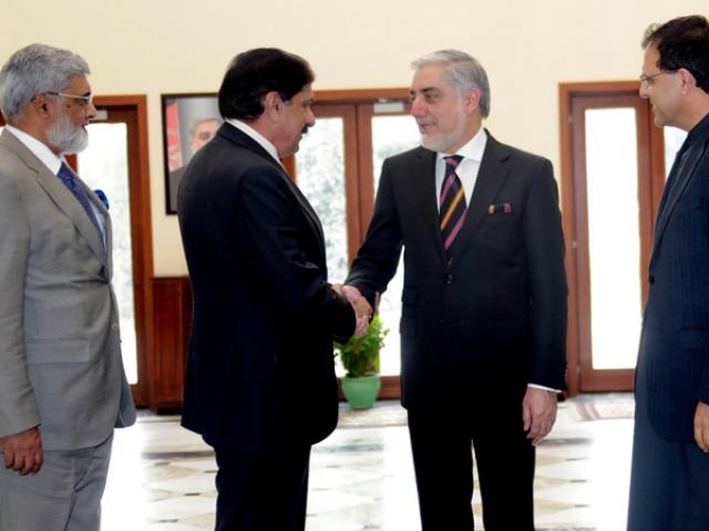 مشیر قومی سلامتی ناصر جنجوعہ اپنے ہم منصب کی دعوت پر کابل پہنچے تھے۔ فوٹو : ٹویٹر