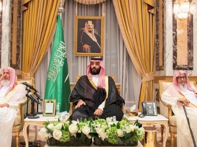 سعودی ولی عہد شہزادہ محمد امریکا کے دورے پر ہیں جس کے دوران وہ ٹرمپ سے ملاقات کریں گے فوٹو:رائٹرز