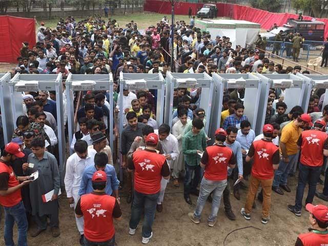 18 ہزاراہلکاروں کی اسٹیڈیم،گرد و نواح،کھلاڑیوں کے ہوٹل اور روٹ پر تعیناتی