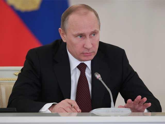 اقوام متحدہ کی قراردادوں کے خلاف حملے جاری رہے تو عالمی تعلقات میں افرا تفری پیدا ہوگی، روسی صدر فوٹو: فائل