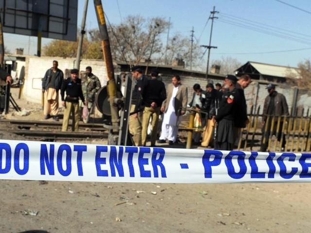 کچھ سیاستدانوں نے بلوچستان میں ہلاکتوں پر ردعمل میں انتہائی لاپرواہی اور معاندانہ رویے کا مظاہرہ کیا۔ فوٹو:فائل