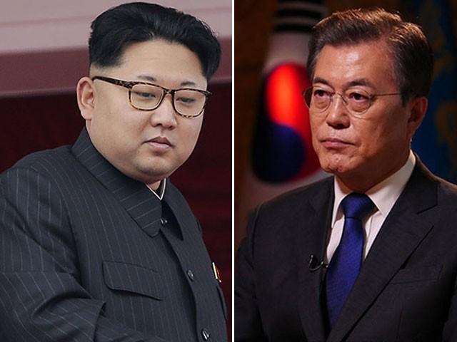 شمالی کوریا کے سربراہ کم جان ان 27 اپریل کو تاریخی دورے پر جنوبی کوریا پہنچ رہے ہیں -  فوٹو: فائل