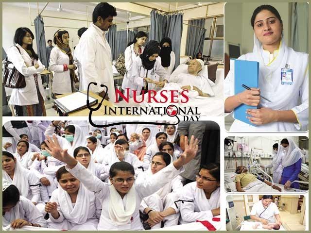 نرسوں کی تعلیم، تربیت اور صلاحیتوں سے مکمل استفادہ کے لئے ان کی حوصلہ افزائی اور معاونت ضروری ہے ۔  فوٹو : فائل