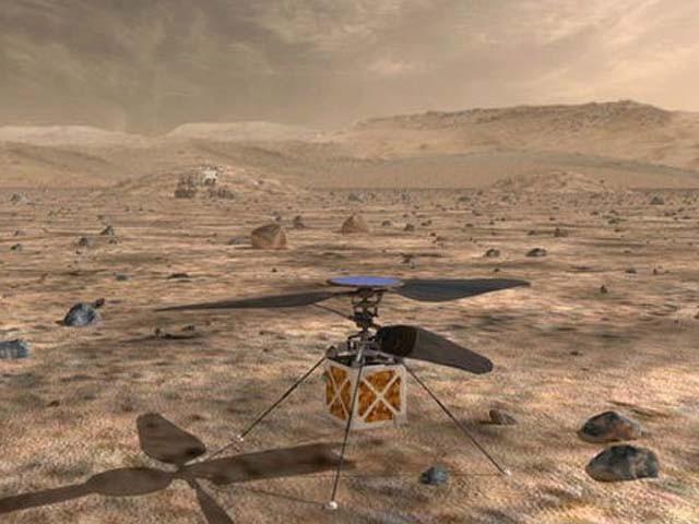 یہ ہیلی کاپٹر ناسا کے 'خلائی مشن مریخ 2020' کا حصہ ہوں گے (فوٹو : ناسا)