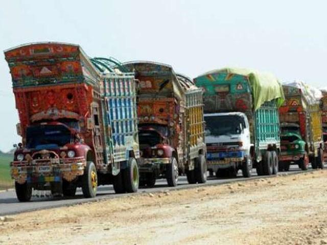 ٹرانسپورٹ جیسے اہم شعبے کی ترقی کے لئے کوئی اقدامات نہیں کئے گئے،،گڈز ٹرک اونرز ایسوسی ایشن۔فوٹو: فائل