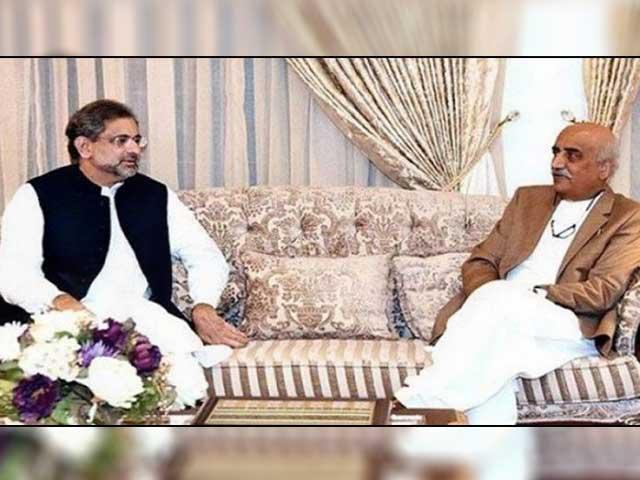 وزیراعظم سے ملاقات میں نگران وزیراعظم کے نام پر اتفاق نہیں ہوسکا، خورشید شاہ فوٹو: فائل