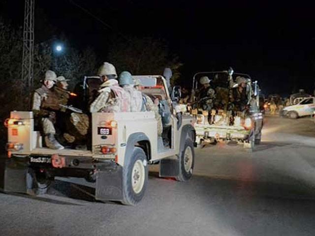 حملہ گزشتہ رات کلی الماس میں اہم دہشت گردوں کی ہلاکت کا ردعمل تھا، ترجمان پاک فوج- فوٹو: فائل