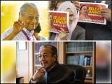 ملائشیا میں رونما ہونے والے نرم انقلاب کے نتیجے میں جیل والوں کا تخت پر قبضہ، اب تخت والے جیل جائیں گے۔ فوٹو: فائل