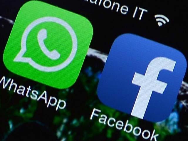 فیس بک سے ویڈیوز اور تصاویر کو بغیر ڈاؤن لوڈ کیے واٹس ایپ پر بھیجا جا سکے گا۔ فوٹو : فائل