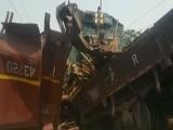 حادثے میں کوئی جانی نقصان نہیں ہوا، ترجمان ریلوے،فوٹو: ایکسپریس