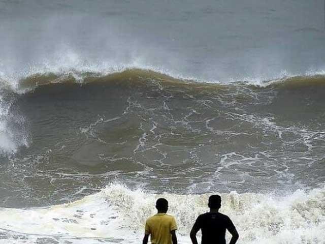 میکونو طوفان کے سندھ، بلوچستان کے ساحلی مقامات پر کسی قسم کے اثرات مرتب نہیں ہوںگے فوٹو : فائل