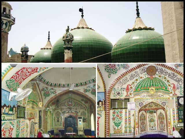 کہا جاتا ہے باقر خان نے صرف ملتان میں یہ مسجد ہی تعمیر نہیں کرائی بلکہ اپنے نام پر ایک خام قلعہ بھی تعمیر کرایا۔ فوٹو : فائل