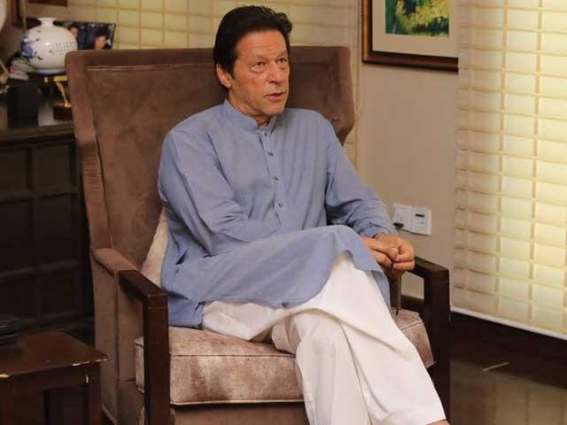 میرے خلاف جو بھی کیا جارہا ہے اس کے پیچھے(ن) لیگ ہے، عمران خان فوٹو:فائل