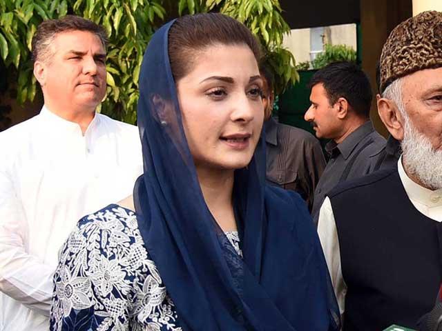 ملک، قوم اور ووٹ کی عزت کےلیے باہر نکلی ہوں، رہنما مسلم لیگ (ن) فوٹو: فائل
