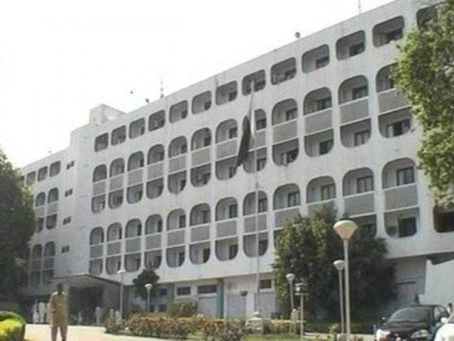 گزشتہ روز بھارتی فورسز کی ایل او سی پر فائرنگ سے شہری محمد شکیل شہید ہوگیا تھا، ترجمان دفتر خارجہ  فوٹو : فائل