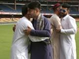 افغان کرکٹر بھارت کے خلاف بنگلور ٹیسٹ میں مصروف تھے۔ فوٹو: انڈین میڈیا