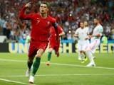 پرتگال کے رونالڈو کی شاندار ہیٹرک نے پرتگال کو شکست سے بچا لیا۔ فوٹو: گیٹی امیجز