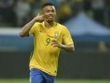 گیبرل اس وقت روس میں ہونے والے فٹ بال ورلڈ کپ میں برازیلین ٹیم کا حصہ ہے (فوٹو : فائل)