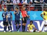 کارلوس سانچز کو یہ سزا جاپان کے خلاف منگل کو دوران میچ گیند کو ہاتھ سے روکنے پر دی گئی ۔ فوٹو : ٹویٹر