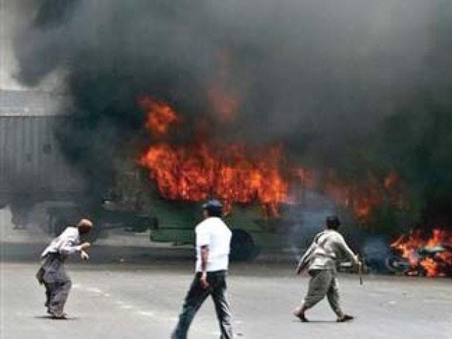 عدالت نے پولیس رپورٹ کو مسترد کرتے ہوئے سی سی پی او کراچی سے تفصیلات طلب کرلیں فوٹو:فائل