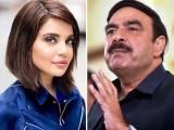 ارمینا خان نے فلم انڈسٹری کے خلاف نازیبا زبان استعمال کرنے پر شیخ رشید کی کلاس لے لی فوٹو:فائل