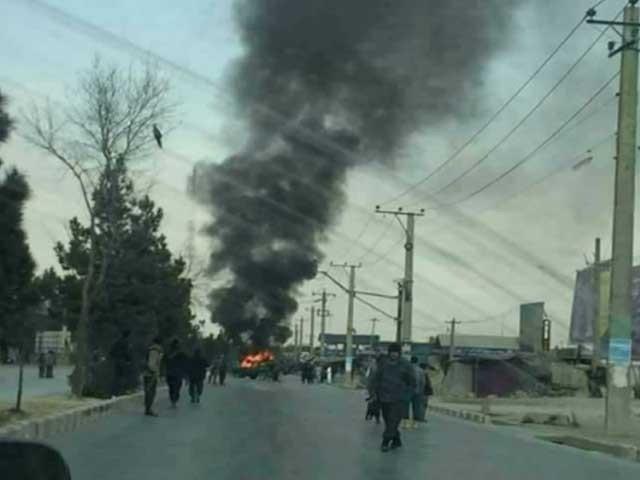 طالبان نے حملے کی ذمہ داری قبول کرتے ہوئے 5 امریکی فوجی ہلاک کرنے کا دعویٰ کیا فوٹو:افغان میڈیا