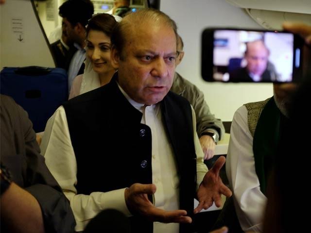 پاکستان ایک فیصلہ کن موڑ پر کھڑا ہے، نوازشریف - فوٹو: رائٹرز