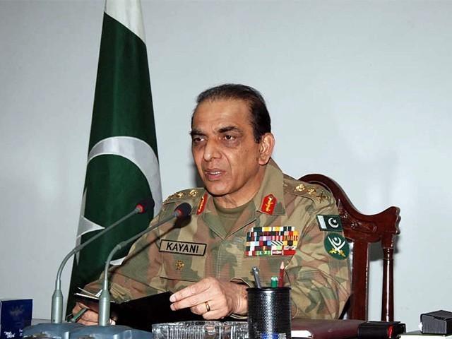 سابق آرمی چیف جنرل اشفاق پرویز کیانی کا غیر معیاری دواؤں کی خریداری میں کردارہے، درخواست گزار۔ فوٹو: فائل