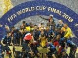 فرانس نے فیفا ورلڈکپ 2018 کے فیصلہ کن معرکے میں کروشیا کو 2-4 سے شکست دی۔ فوٹو: انٹرنیٹ