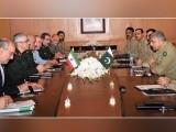 ایرانی چیف آف جنرل اسٹاف نے پاکستان میں حالیہ دہشتگردی کے واقعات کی مذمت کی۔ فوٹو : آئی ایس پی آر