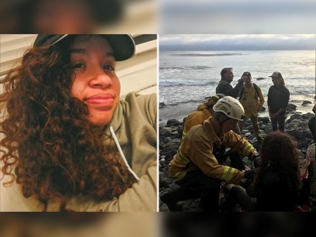 سیاح خاتون سات دن قبل ساحلی علاقے سے لاپتہ ہوگئی تھیں (فوٹو : امریکی میڈیا)