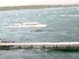 میسوری کی جھیل میں حادثے کا شکار کشتی میں 30 افراد سوار تھے۔ فوٹو : فائل