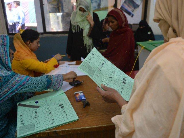 لاہور میں مجموعی طورپر 3 ہزار 887 پولنگ اسٹیشن بنائے گئے ہیں فوٹو: فائل