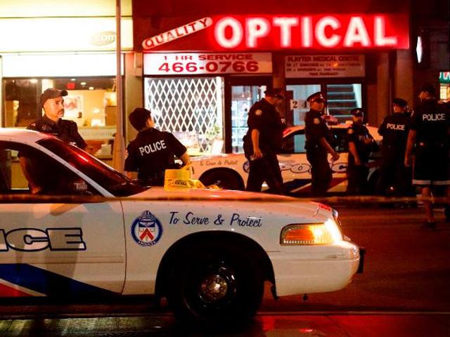 Toronto firing two killed 12 injured