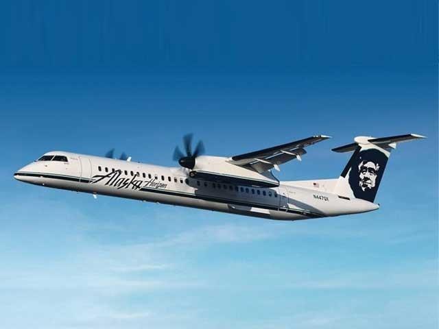 الاسکا ائر لائن کے ملازم نے طیارے کو چوری کرکے اڑان بھرلی تاہم طیارہ بے قابو ہوکر سمندر میں جاگرا فوٹو:فائل
